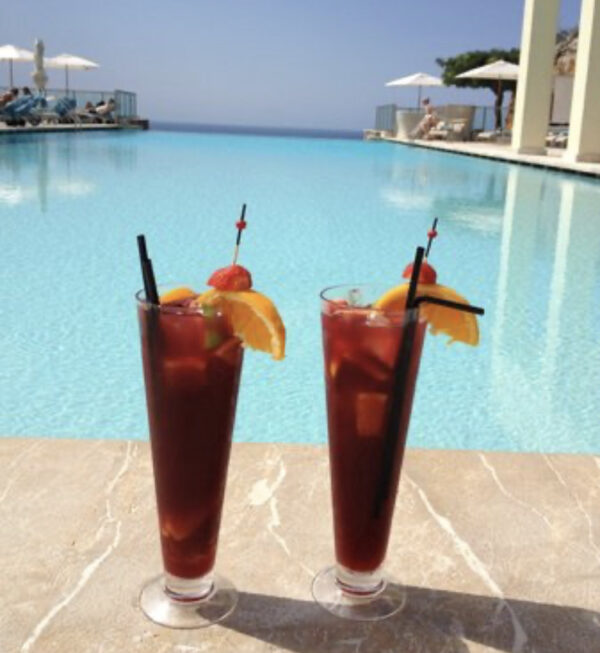 Sangria By The Pool 1