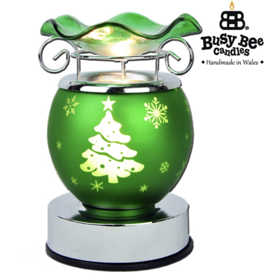 Festive Green Tree Electric Warmer 1