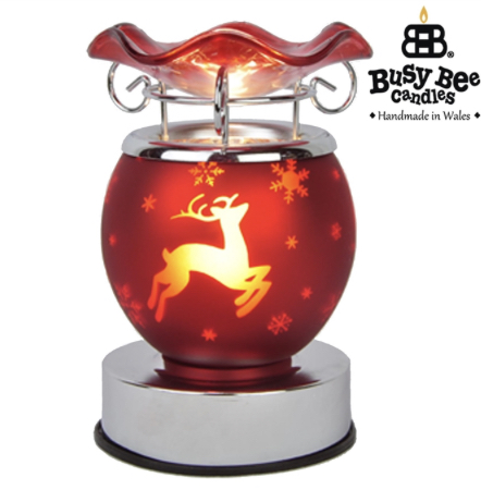 Festive Red Reindeer Electric Warmer 1