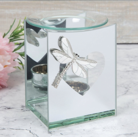 Dragonfly Glass T.Light Warmer 1