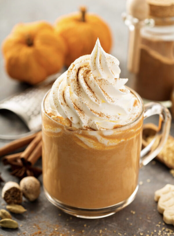 Pumpkin Spiced Latte 1