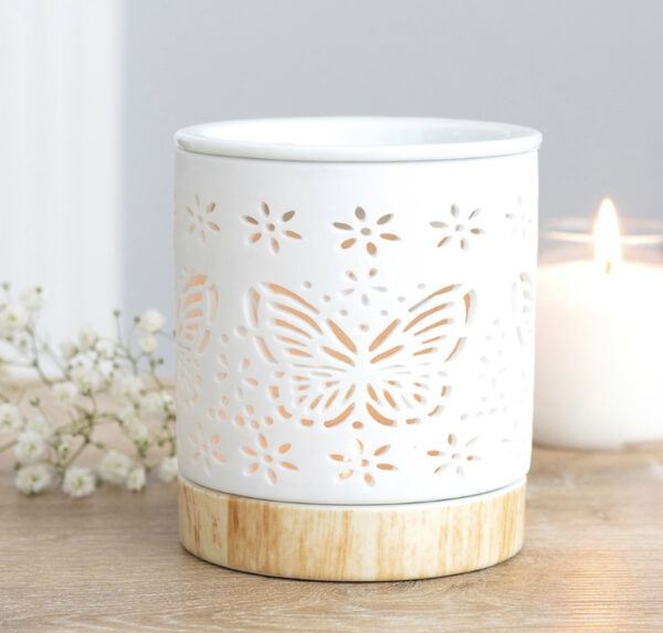 Butterfly T-Light Warmer 1