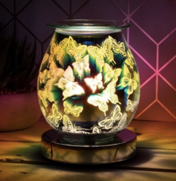 3D Butterfly Aroma Electric Warmer 1