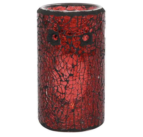 Red Crackle Warmer 1