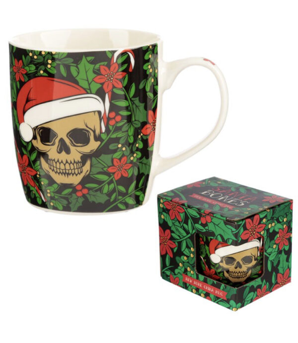 Christmas Skull Mug & Melts 1