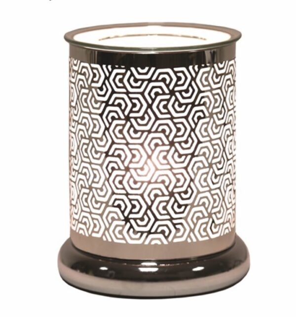Hexagonal Silhouette Patterned Electric Warmer 1