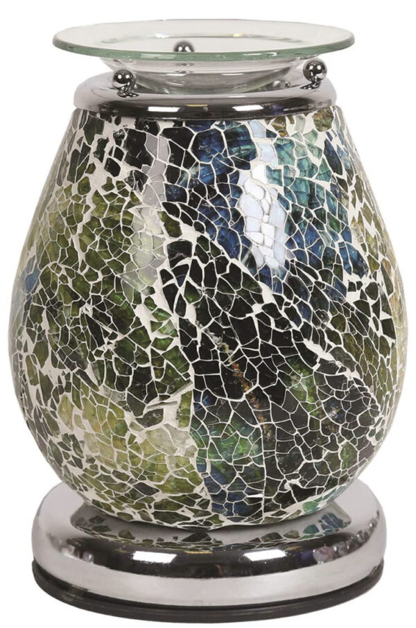 Mosaic Pattern Touch Electric Warmer 1