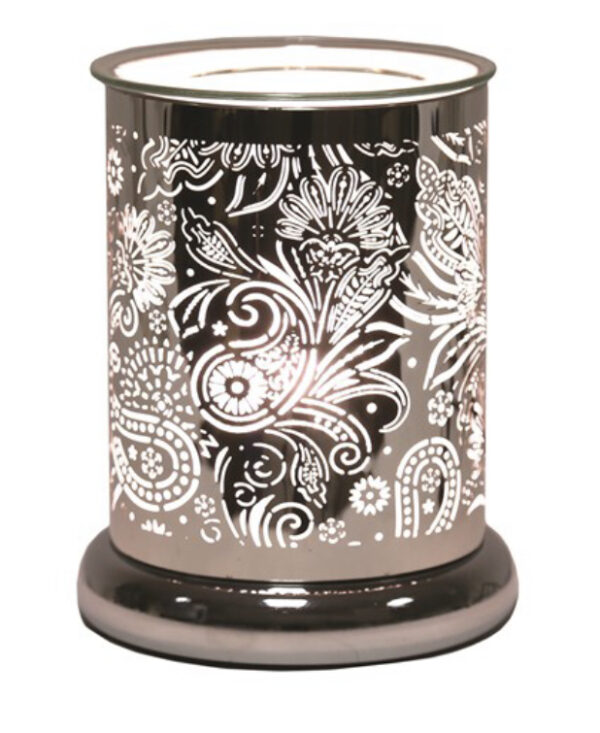 Paisley Silhouette Electric Warmer 1