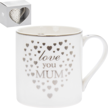 Love You Mum Mug & Melts 1